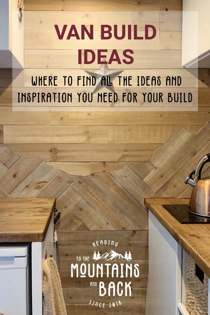 Pin Van Build Ideas