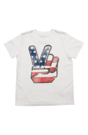 Debbie-Savage-Peek-Baby-Boys-Peace-Graphic-T-Shirt
