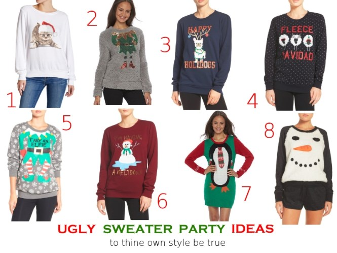 tothineownstylebetrue-ugly-sweater-party-ideas-christmas-gift-guide-2016