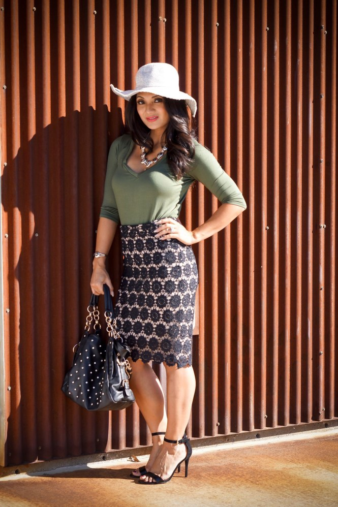 To Thine Own Style Be True | Debbie Savage | Mika Rose Clothing | Lace Skirt