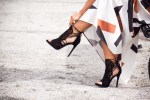 Debbie Savage To Thine Own Style Be True Featuring Guilty Soles FRIBEL Cutout Heel Shoes