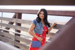 Debbie Savage of To Thine Own Style Be True Wearing Shein's Red Lace Dress