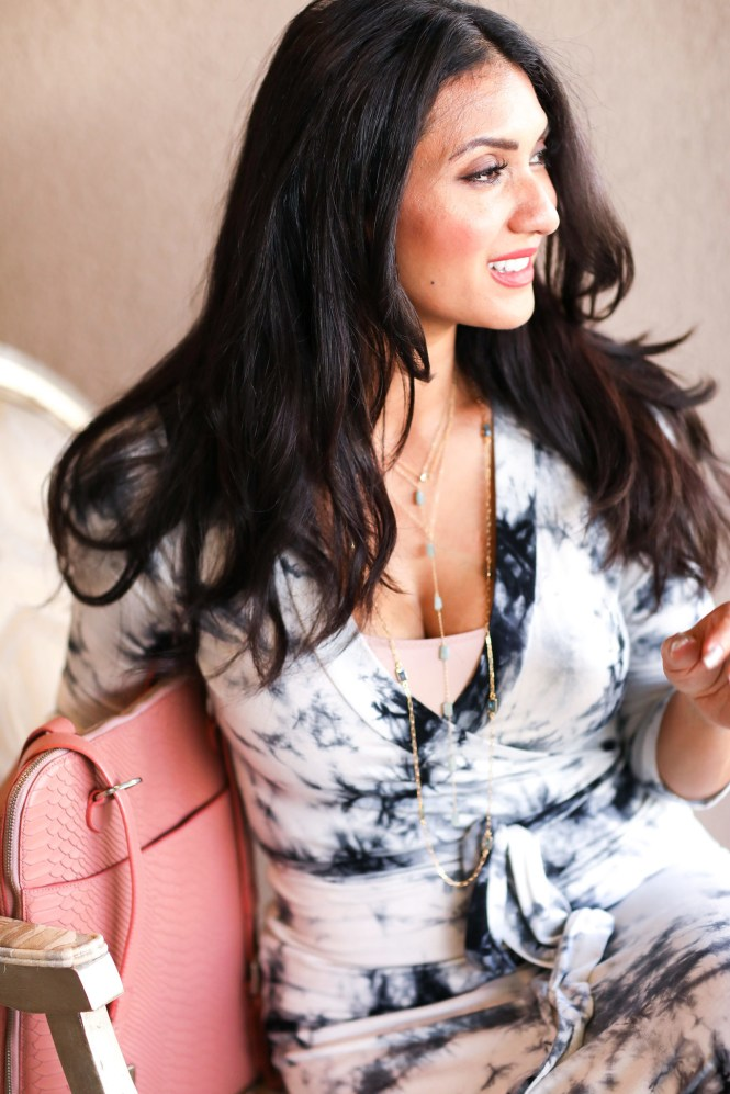 The delicate layered look with Heather Hawkins Jewelry