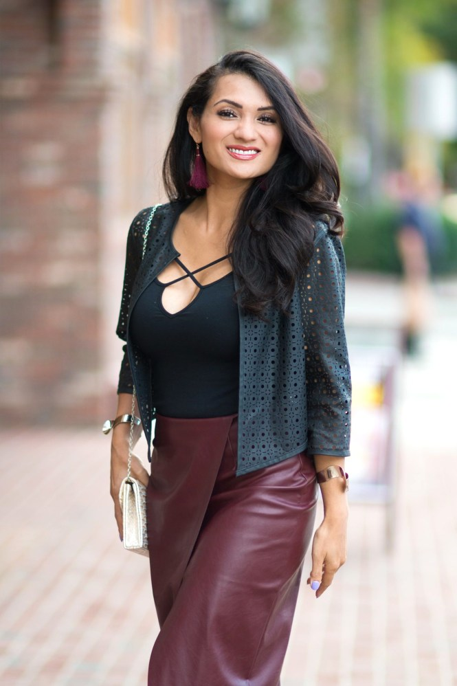 To Thine Own Style Be True   Petite Fashion and Lifestyle Blog   Burgundy: A New Winter Favorite