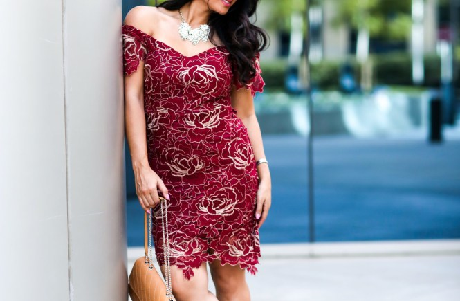 Valentine's Day Dress Style Challenge by popular Orange County fashion blogger To Thine Own Style Be True