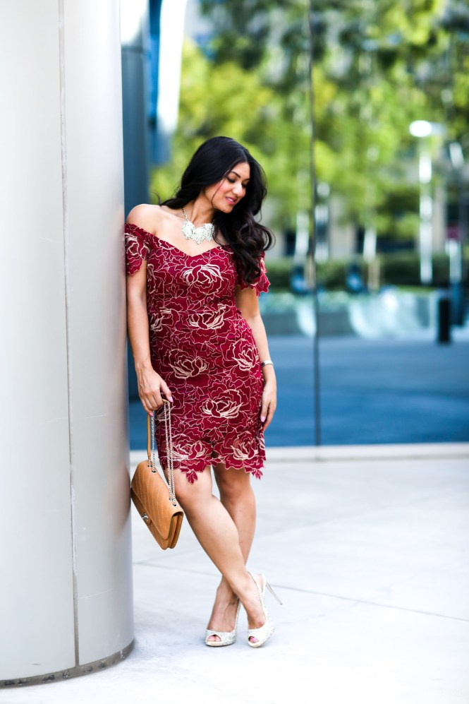 Valentines Day Dress Style Challenge by popular Orange County fashion blogger To Thine Own Style Be True