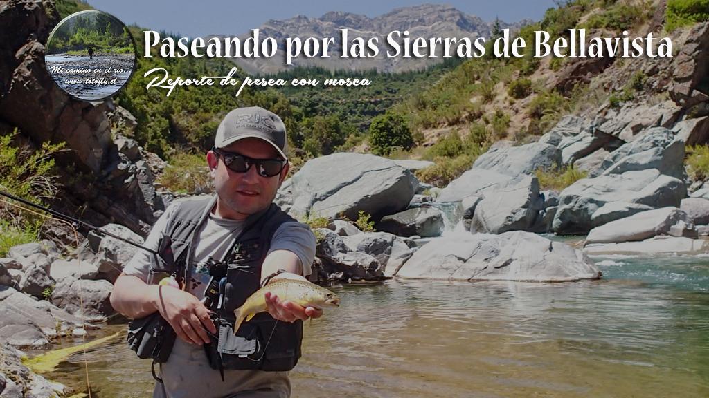 Paseando por las Sierras de Bellavista - Reporte de pesca