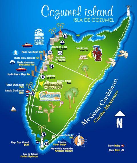 mapa-isla-cozumel