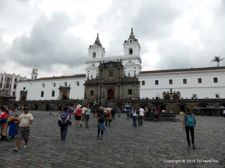 Iglesia de San Francisco in Quito
