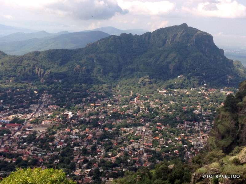 The View From The Top iof Tepozteco is Worth The Climb