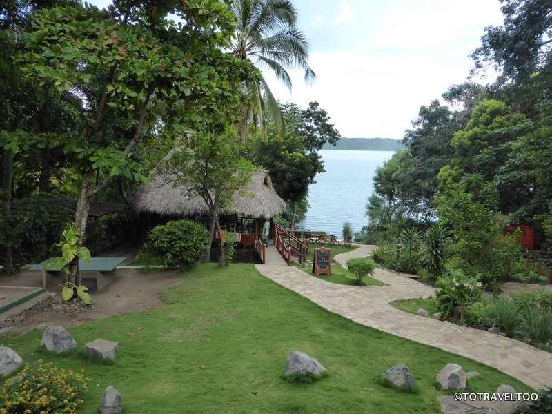 The Laguna Beach Club on Laguna de Apoyo Granada