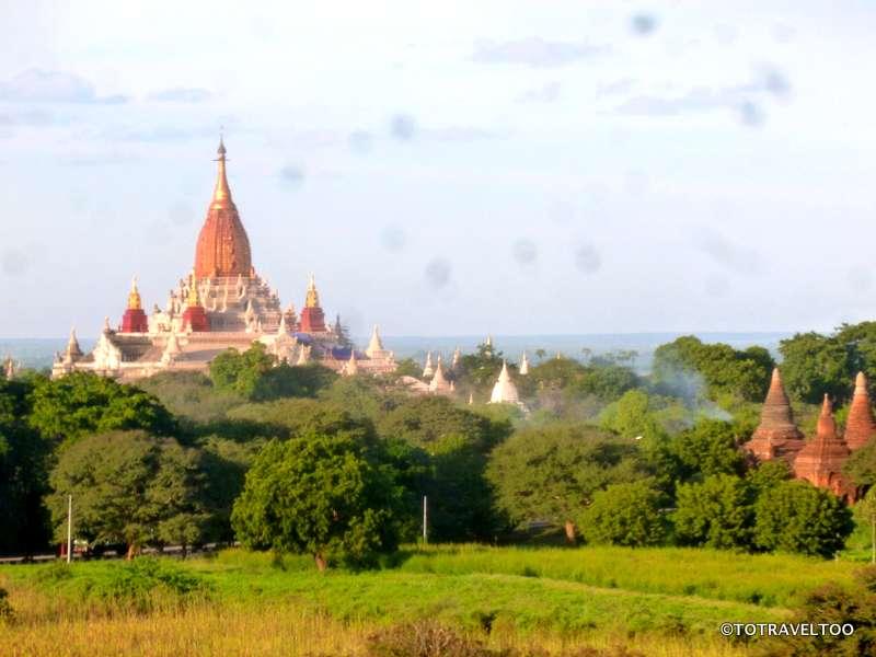 Ananda Pagoda in Bagan Myanmar