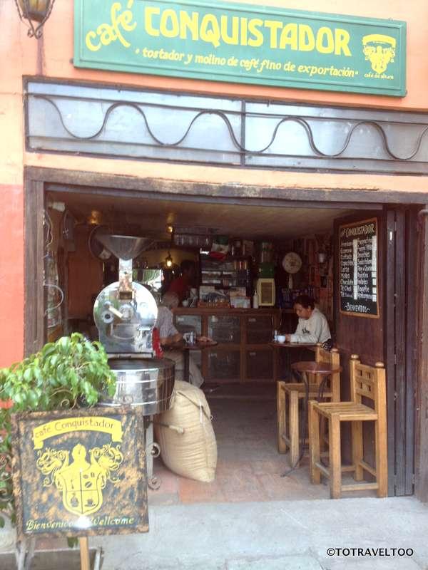 Our favourite Coffee Place in Guanajuato