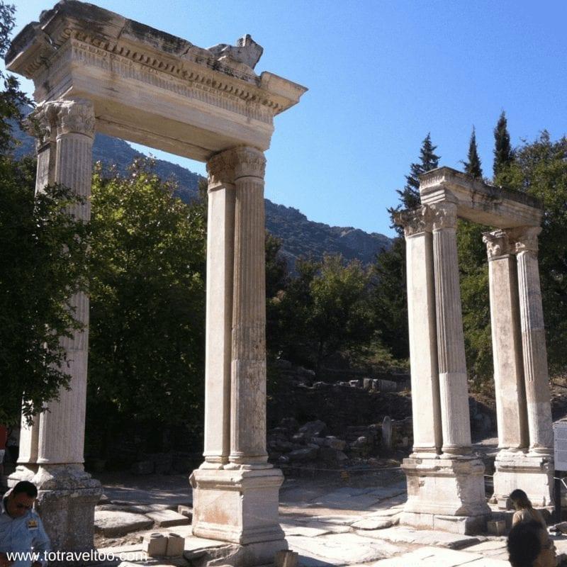 Hadrian's Gate Ephesus