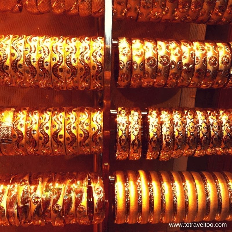 So much gold everywhere in the Grand Bazaar in Istanbul