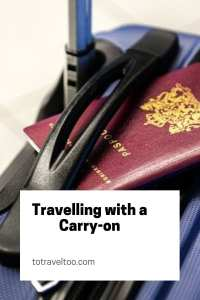Travelling the world with a carry-on