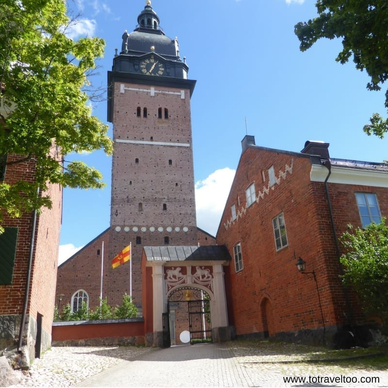 Cathedral of Strangnas in Sormland in Sweden