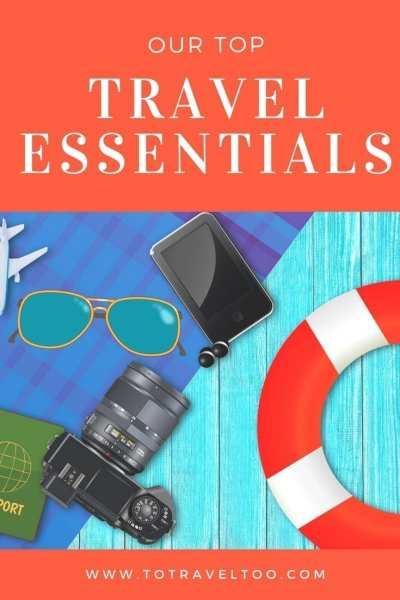 Our top travel essentials