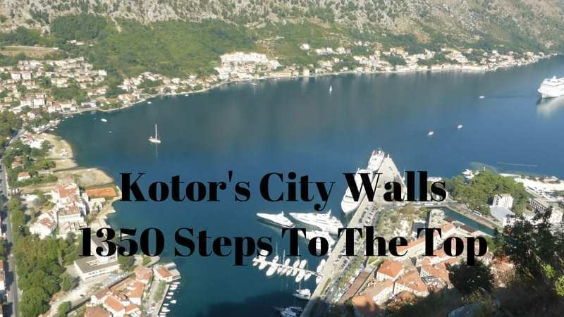 Kotor's City Walls