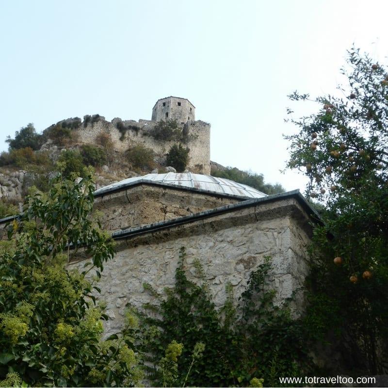 The Fort in Pocitelj in Bosnia