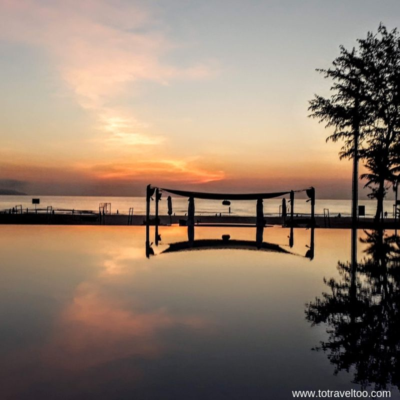 Sunrise at the Pullman Danang Beach Resort - luxury escape in Vietnam