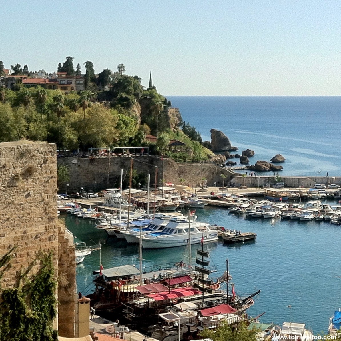 The harbour of Antalya