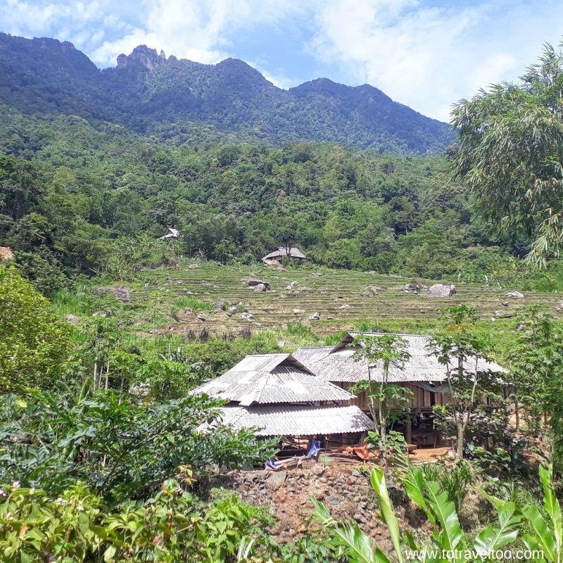 White Thai Stilt Houses for our guide to mai chau vietnam