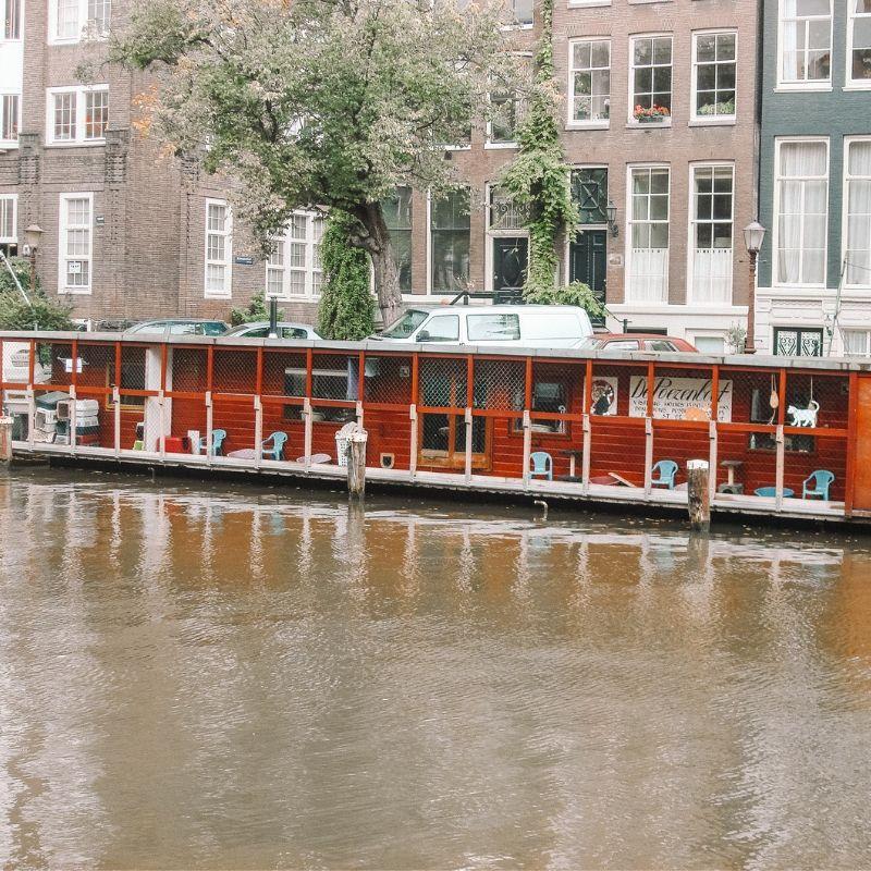 Poezenboat Amsterdam