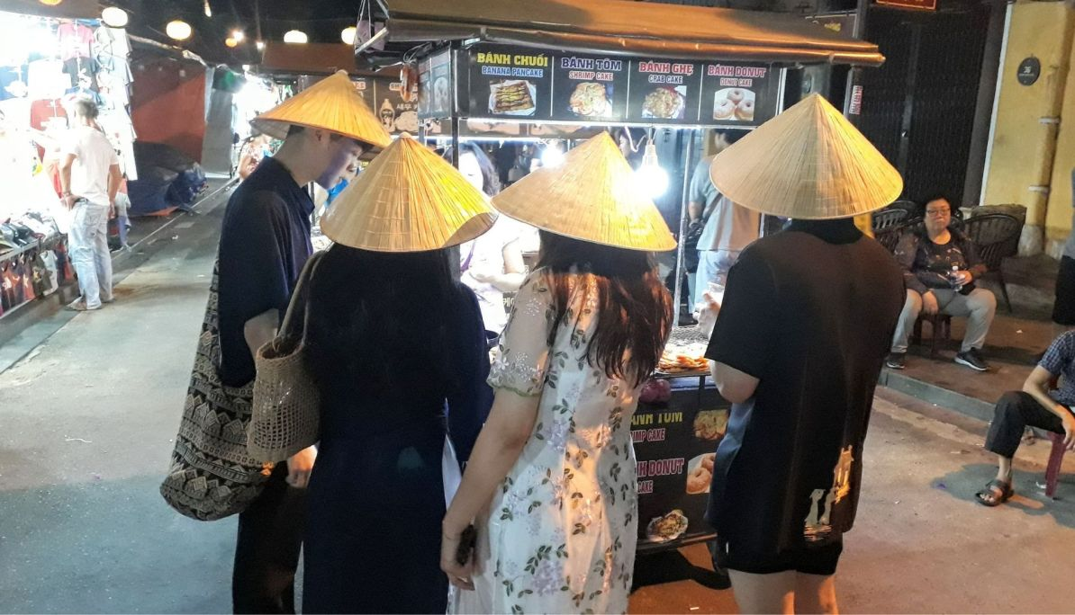 Popular conical hats