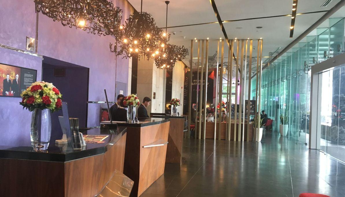 Reception at the Pullman Saigon Centre Hotel 5 days in Saigon