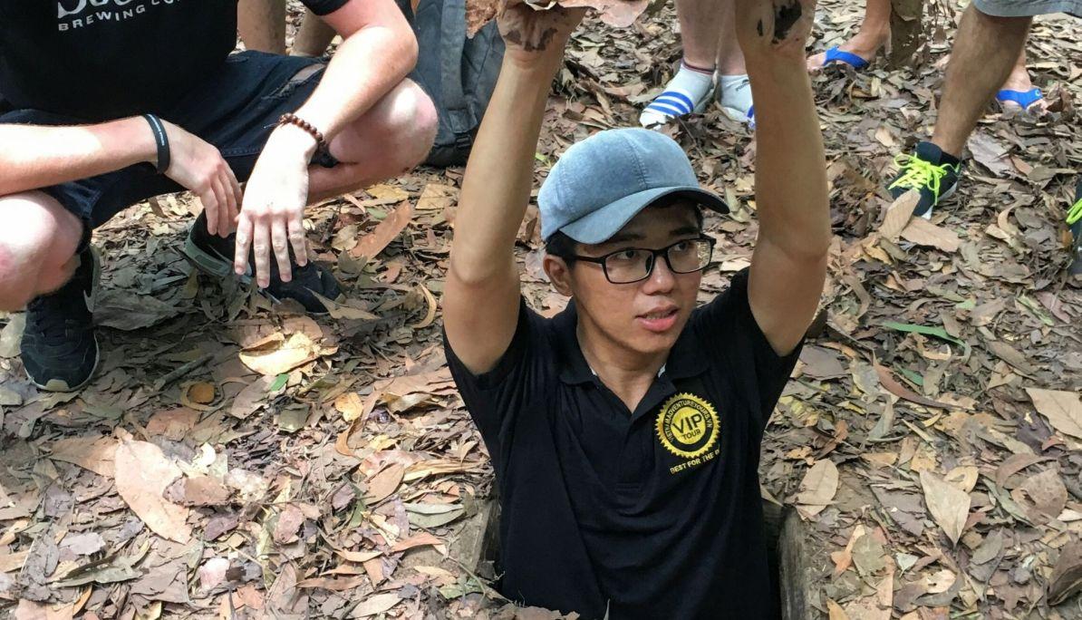 5 days in Saigon - Cu Chi Tunnels
