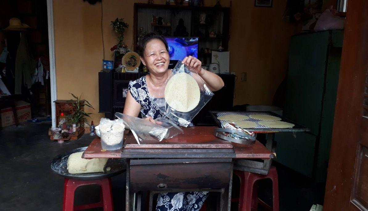 Sweet potato rice paper