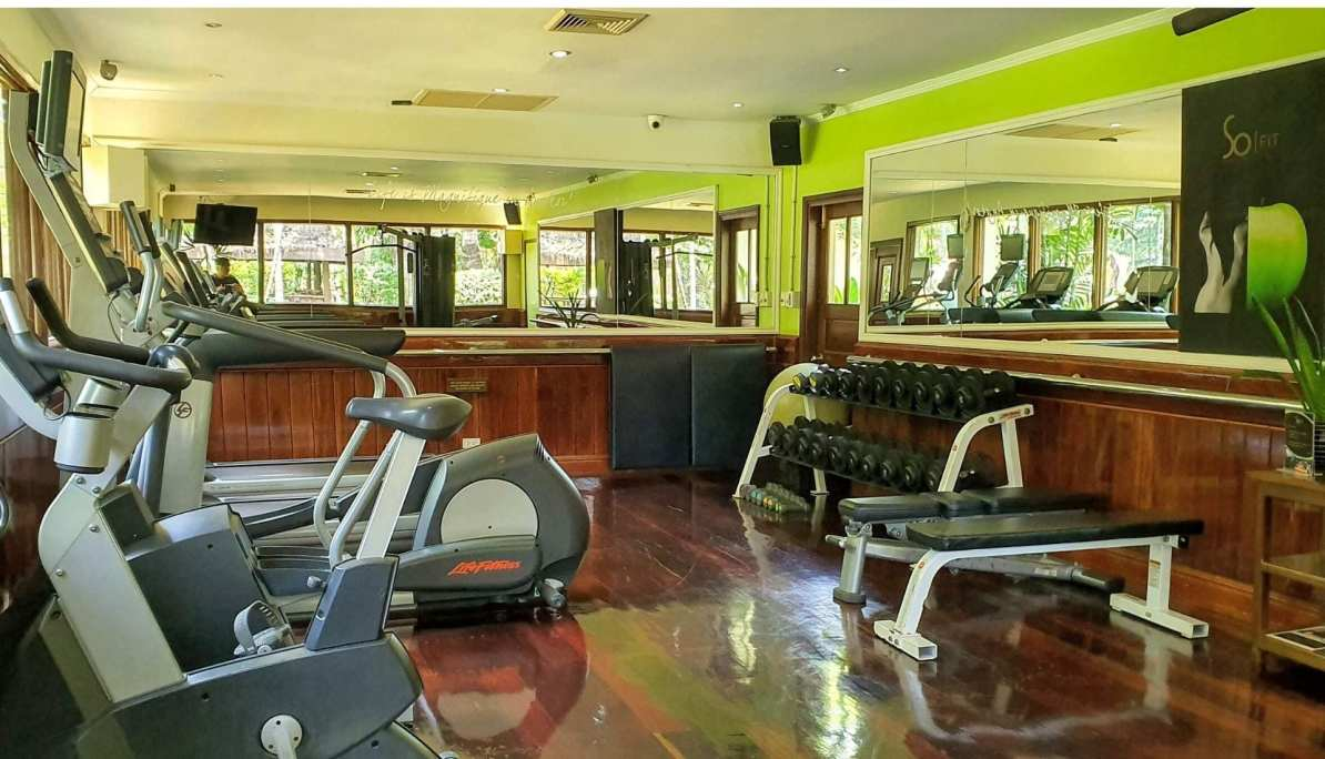 The Gym at the Sofitel