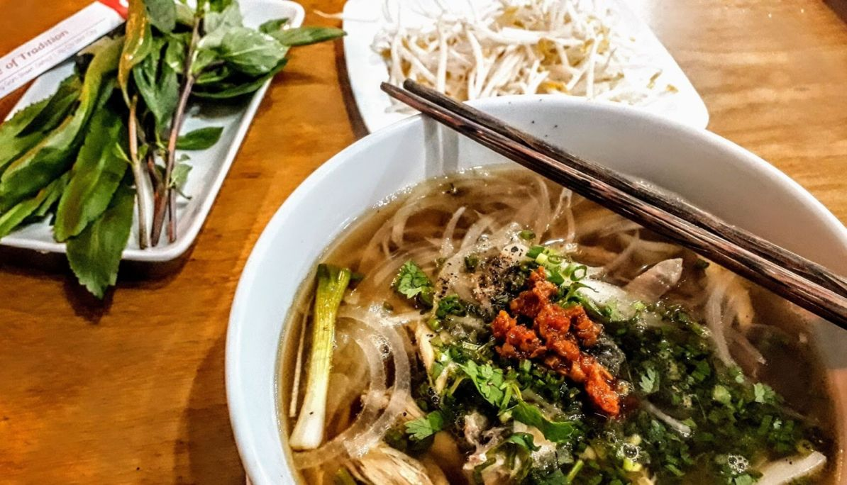 Dine at Pho Cong