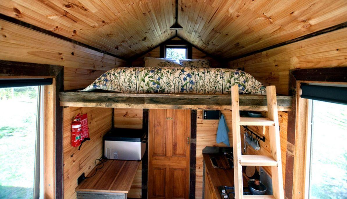 Loft bedroom Bass Coast
