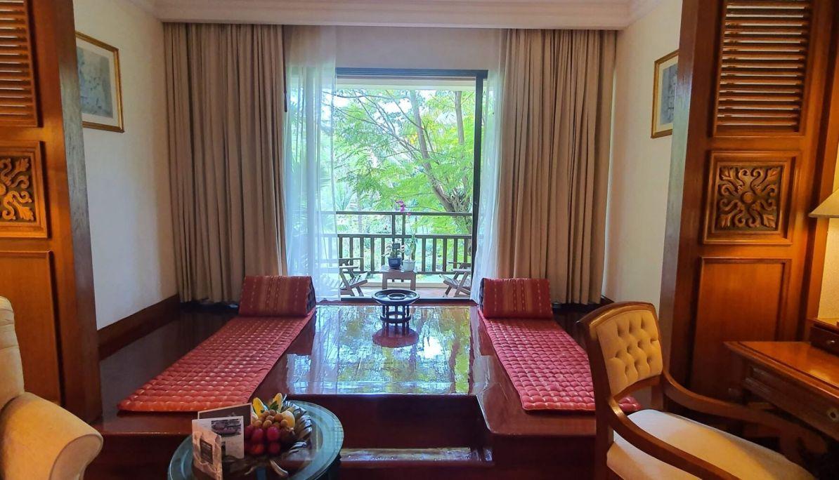 Bedroom at the Sofitel