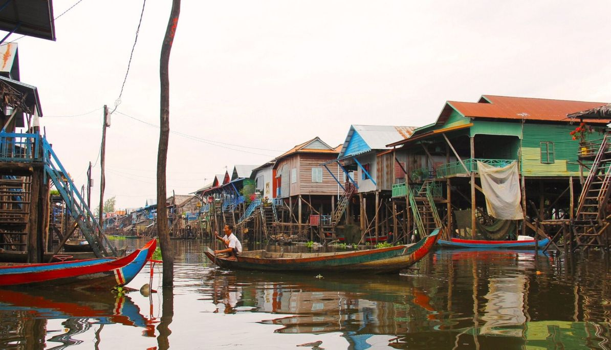 Floating Villages of Tonle Sap