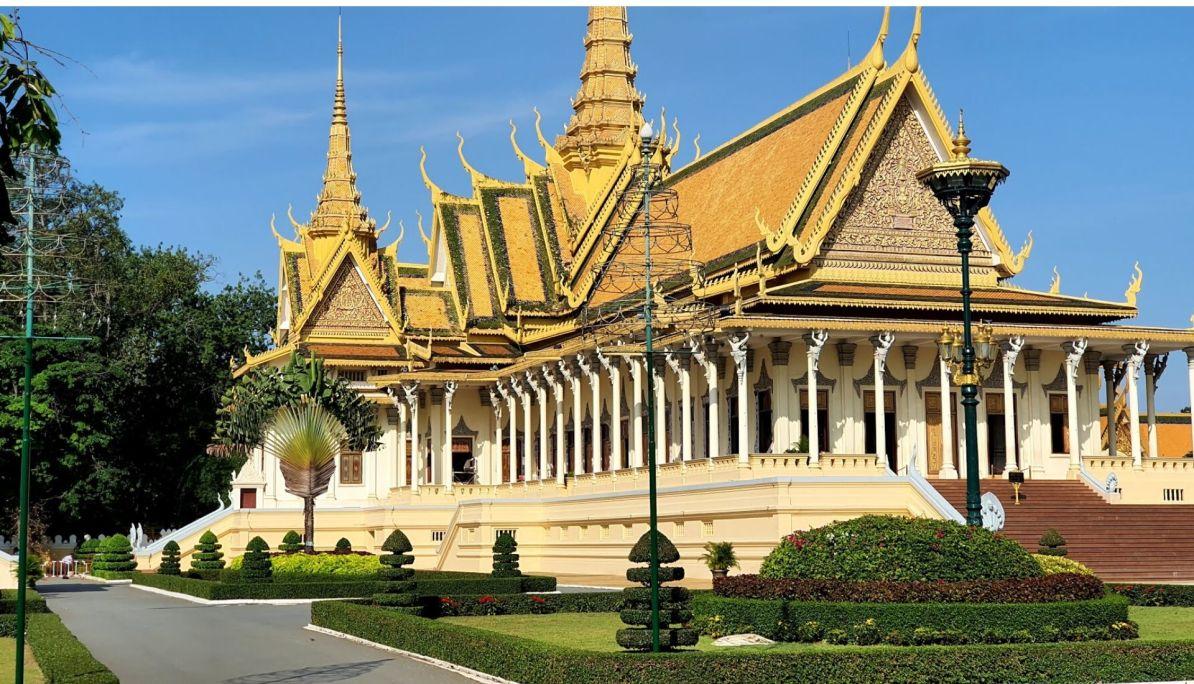 Throne Hall at the Royal Palace