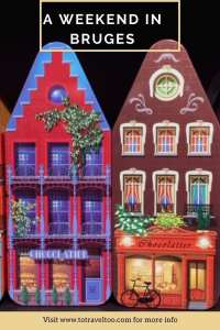 Pinterest - a weekend in Bruges