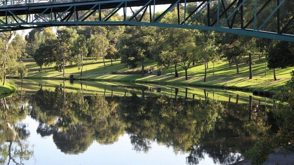 Torrens River Bridge Adelaide
