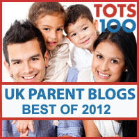 Tots100 Top UK Parent Blogs