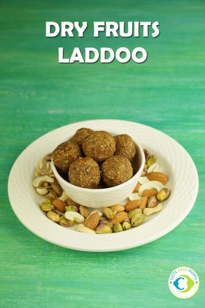 DRY FRUITS LADDOO LADDU for Toddlers, Kids & Family at home