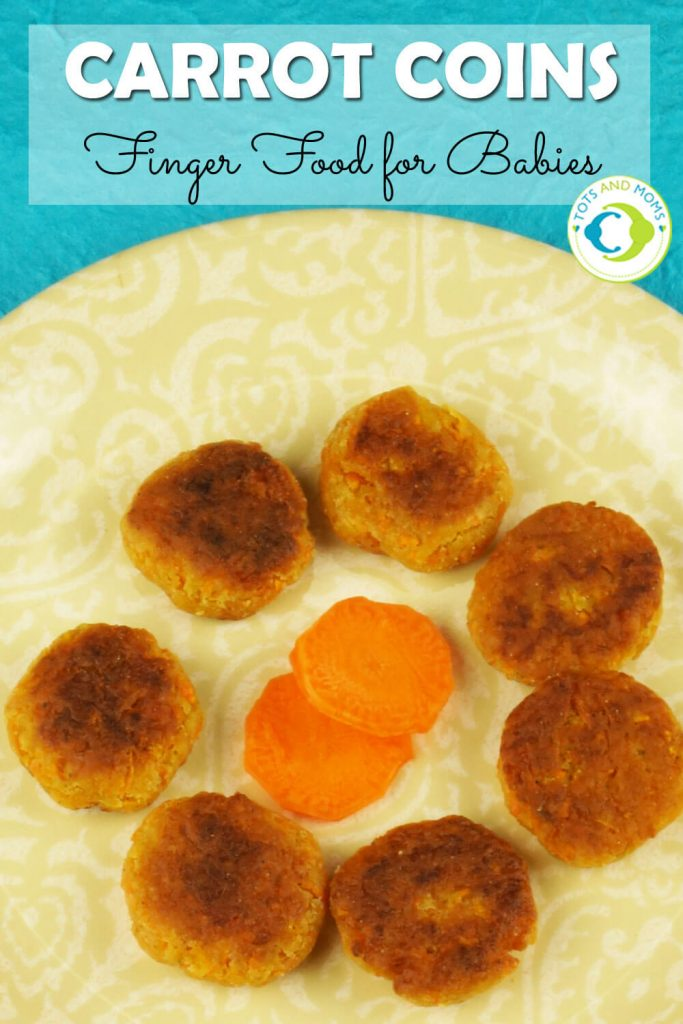 CARROT COINS - IDEAL FINGER FOOD for Babies, Toddlers & Kids