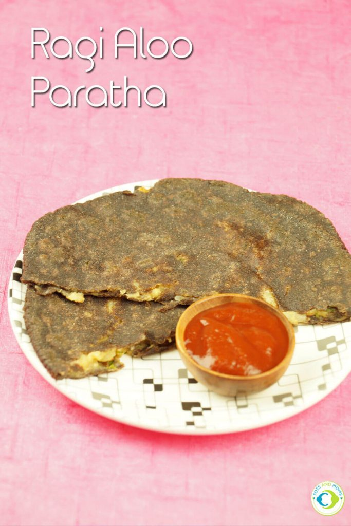RAGI ALOO PARATHA for Toddlers, Kids & Family