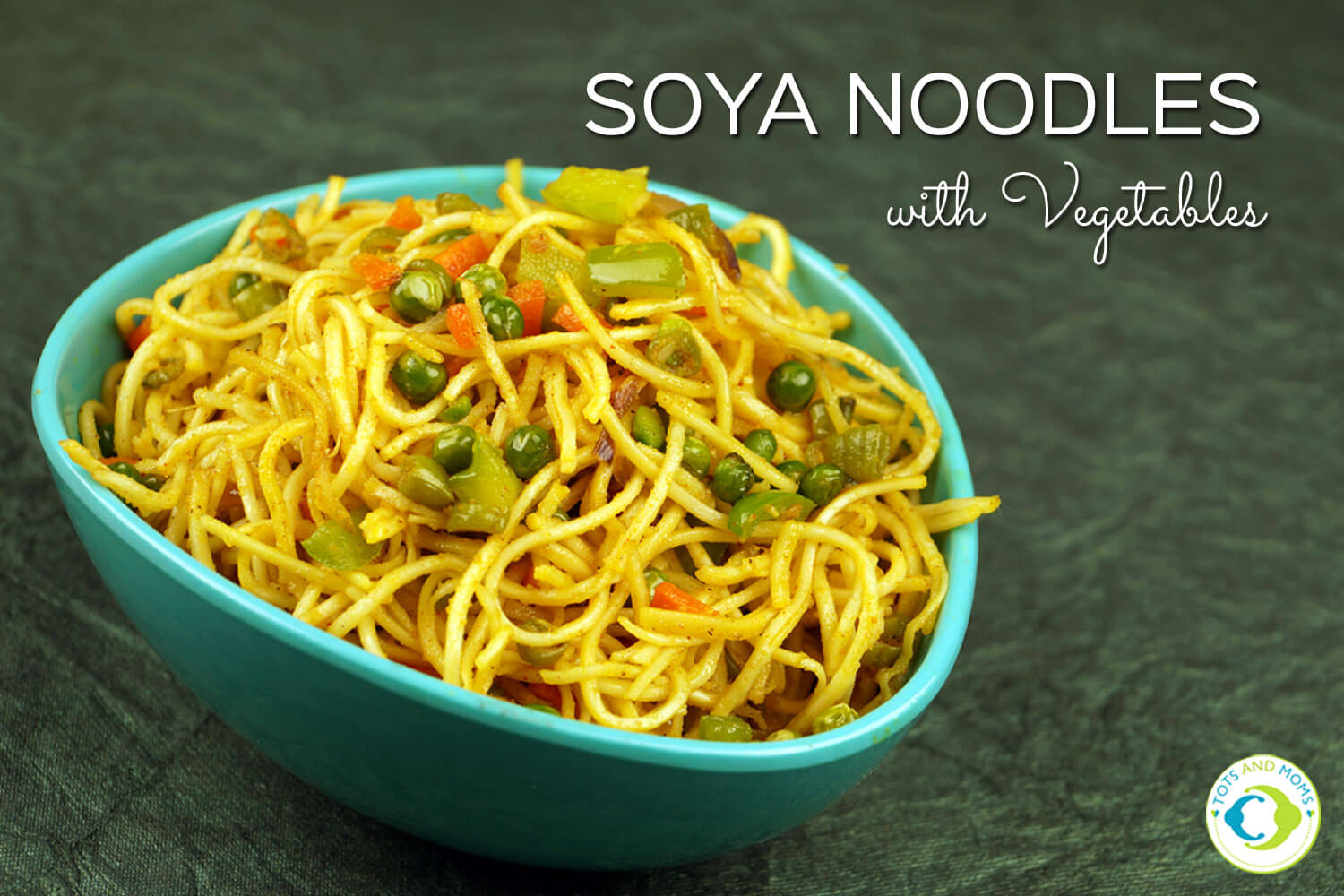 INSTANT SOYA NOODLES WITH VEGETABLES for Toddlers, Kids & Family How to introduce soya for kids