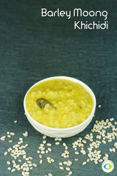 BARLEY MOONG KHICHDI for Babies, Toddlers, Kids & Family Protein rich 6-8 months baby food