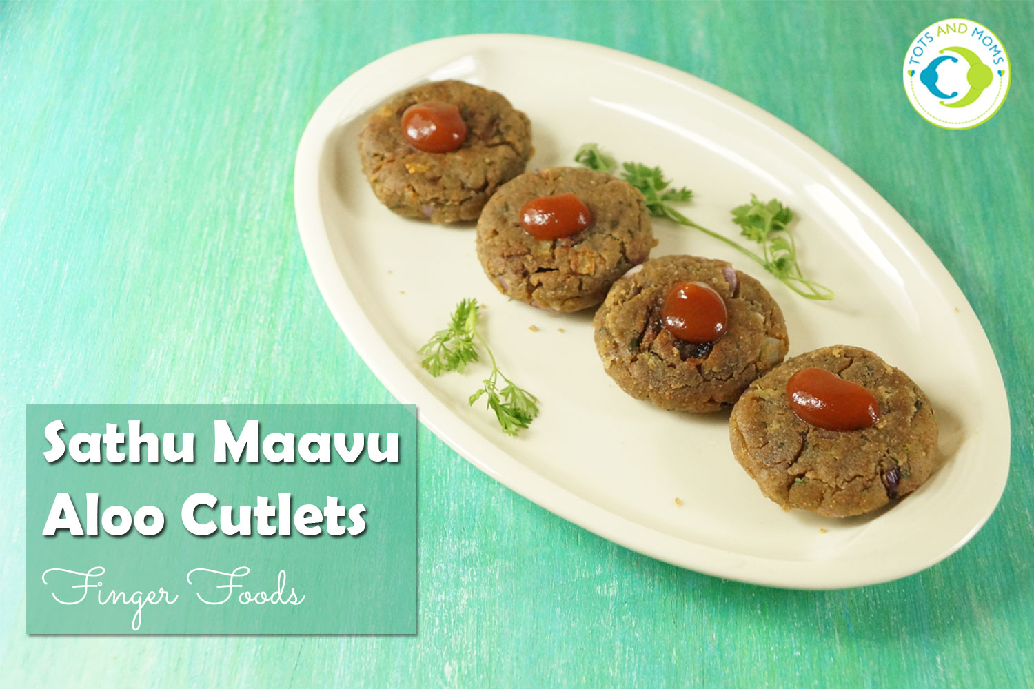 SATHU MAVU ALOO CUTLETS / TIKKI RECIPE for Babies, Toddlers, Kids & Family