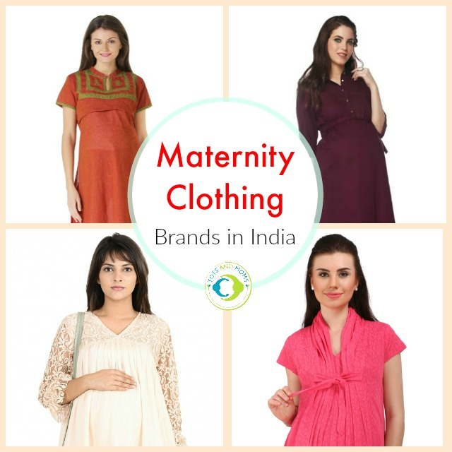 9 Top Maternity Clothing Brands in India | Buy Maternity Clothes for Pregnant Moms & New Moms breastfeeding clothes nursing
