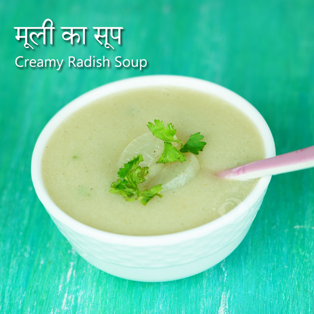 Creamy Radish Soup for Babies, Toddlers & Kids | Cough & Cold Remedy hindi kannada recipe mooli moolangi