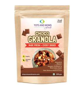Choco Granola for Moms' & Family's Protein requirement